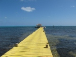 Jetty bei Long Caye